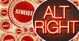 Atheism and Alt Right words in images