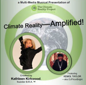 Climate Reality- Amplified! (Performance Edition) @ Brooklyn Society for Ethical Culture
