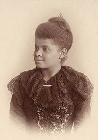 While She Waits for The Freedom - In honor of Ida B. Wells